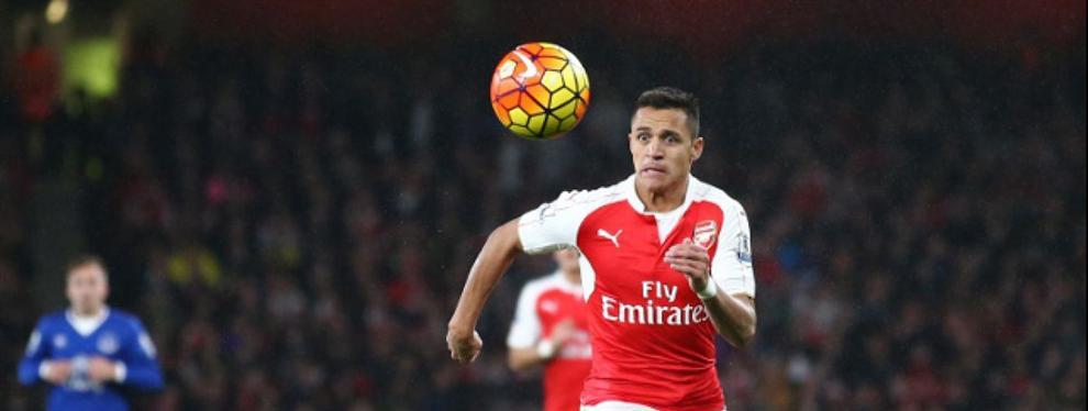 Alexis en la mira del PSG