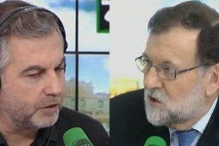 """Alsina tira la toalla con Rajoy: """"No tengo un titular que llevarme a la boca"""""""