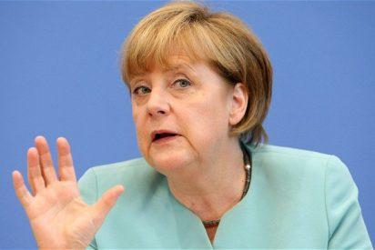 Merkel le da con la mano abierta a Trump por aplaudir hasta con las orejas el 'Brexit'