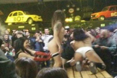 El show porno lésbico en un bar de Mataró que levanta todavía ampollas