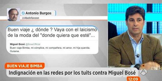 """Fran Rivera contra Antonio Burgos y los """"hijos de puta"""" que insultaron a Bimba"""