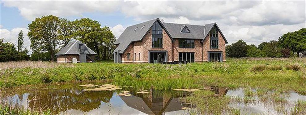 Así es la espectacular mansión millonaria de Sterling en la campiña inglesa