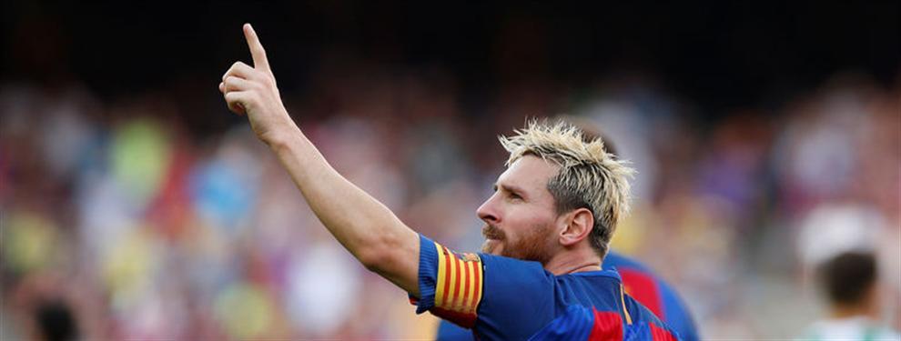 Así, sí: El mensaje del entorno de Messi ante la 'bajada al barro' del Barça