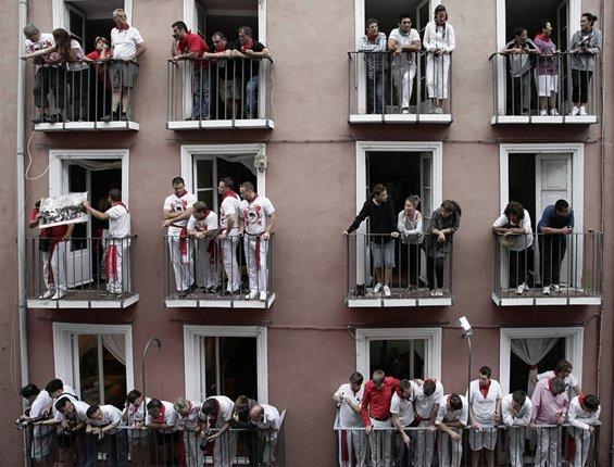 """El Papa reprende a los que """"balconean"""" la vida"""