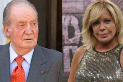 El aspersor de basura: apuntan a una presentadora de Telecinco como amante del Rey