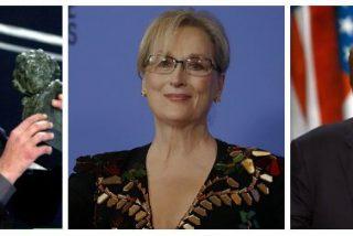 """Antonio Burgos: """"¿Le escribió Pilar Bardem a Meryl Streep el discurso contra Trump?"""""""