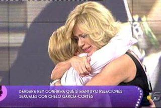'Sálvame': Bárbara Rey confirma su noche de amor con Chelo García Cortés