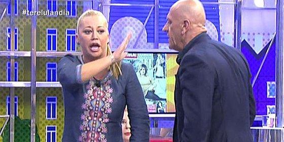 Belén Esteban da la espantada en 'Sálvame' tras un broncazo con Matamoros