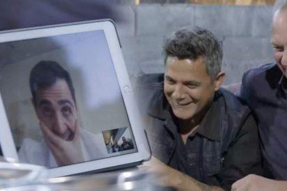 Alejandro Sanz se burla de Iker Casillas en el programa de Bertín por su antológica fama de tacaño