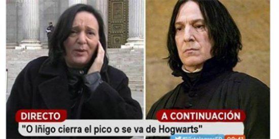Bescansa tiene un clon en la saga de Harry Potter: la podemita tiene un parecido incuestionable con uno de sus personajes