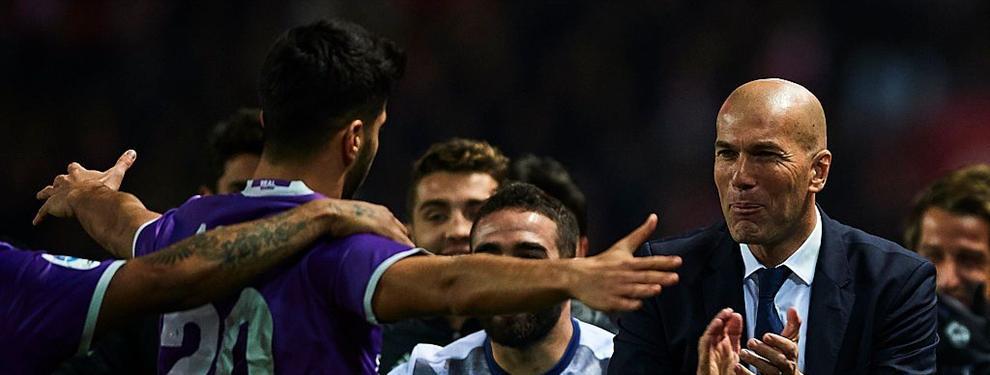¡Bestial! Zidane calienta a los jugadores del Real Madrid con lo nunca visto