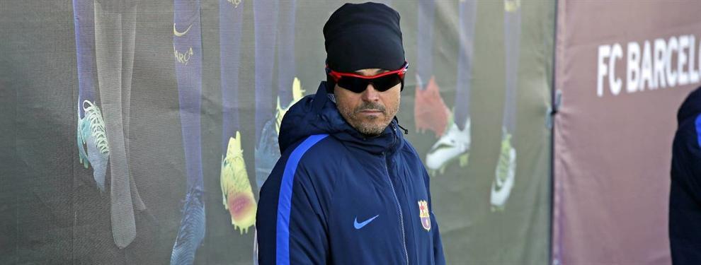"""Bomba en el vestuario del Barça: """"Me tiraría de un puente por Luis Enrique"""""""