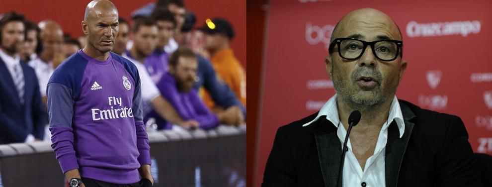 ¡Bombazo! ¡El Real Madrid se entromete en el fichaje de Sampaoli por el Barça!