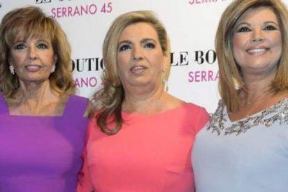 """Carmen Borrego dice que está """"hasta el coño"""" de su hermana Terelu y de su madre"""