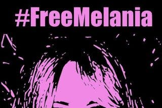 Cachondeo en Twitter con Melania Trump; #FreeMelania