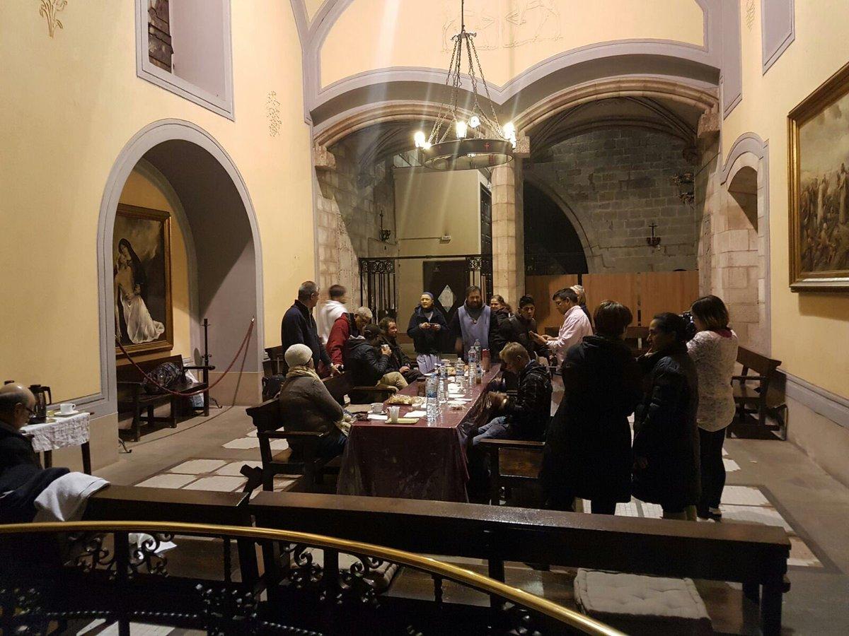 Comedor de Santa Anna de Barcelona