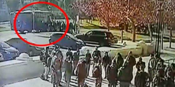 Así aplasta el camión del yihadista a 4 jóvenes soldados israelíes en Jerusalén