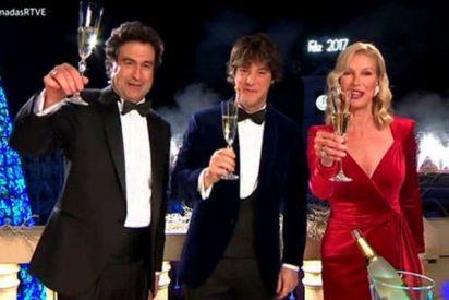 Campanadas 2016-17: TVE barre a las privadas y Antena 3 triunfa y el bañador de Pedroche se imponen a Telecinco