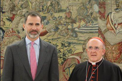 Felipe VI recibe al cardenal Osoro