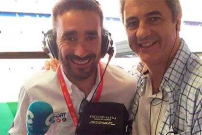 """Así vacila Juanma Castaño a Manolo Lama con su inminente regreso a la TV: """"Sales mucho en los papeles, pareces el CR7 del periodismo"""""""
