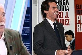"""Pérez Henares se troncha con el peloteo de Pedrojota a Aznar: """"¡Deberían ser tándem electoral! ¡Ánimo tíos!"""""""