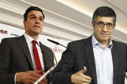 """Pedro Sánchez a Patxi López: """"No tiene sentido que haya tres candidaturas"""""""