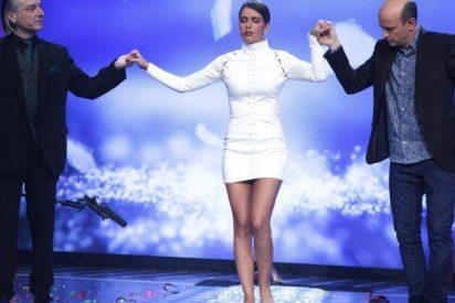 Sufrimiento y lágrimas de Cristina Pedroche con el hipnotizador Jeff Toussaint