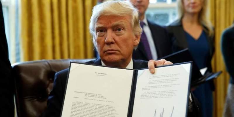 Donald Trump aprueba hoy la construcción del muro en la frontera con México