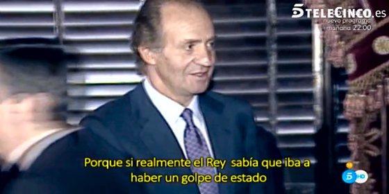La salva de pólvora en Telecinco: sugiere que Juan Carlos I estaba implicado en el golpe de Estado del 23F