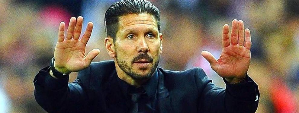 El Cholo Simeone frenó la partida de un crack al fútbol chino