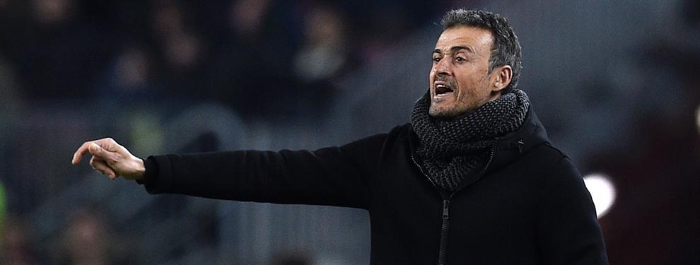 El jugador que está muerto si Luis Enrique sale del Barça (¡no te lo imaginas!)