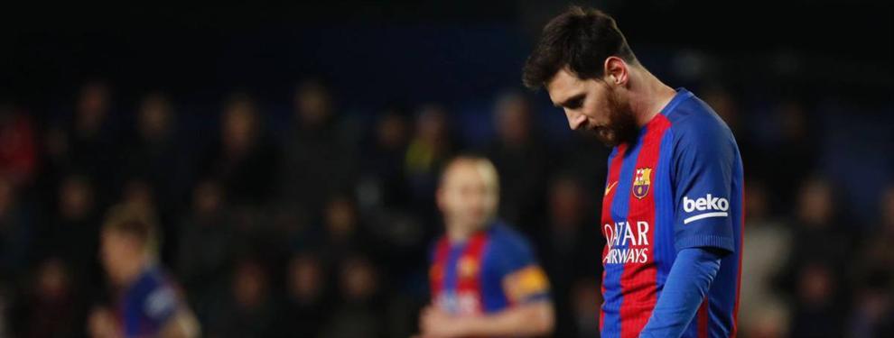El Madrid se frota las manos con una bomba de Messi en el vestuario del Barça