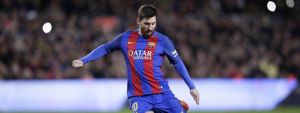 El maestro que está detrás de los tiros de falta de Messi