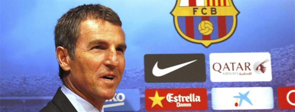 El 'nuevo Godín' que colocan en la órbita del Barça para enero