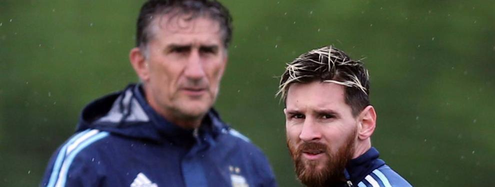 El Patón Bauza confirma lo que se sabía de la relación Leo Messi-Mauro Icardi