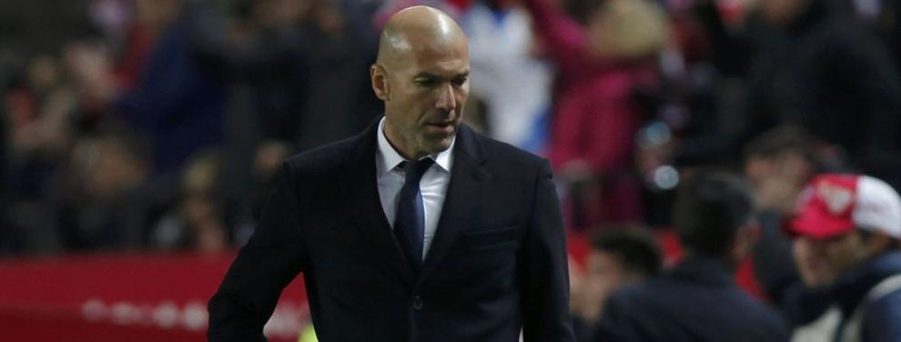 El sangrante zasca que le ha caído a Zidane desde el entorno del Madrid