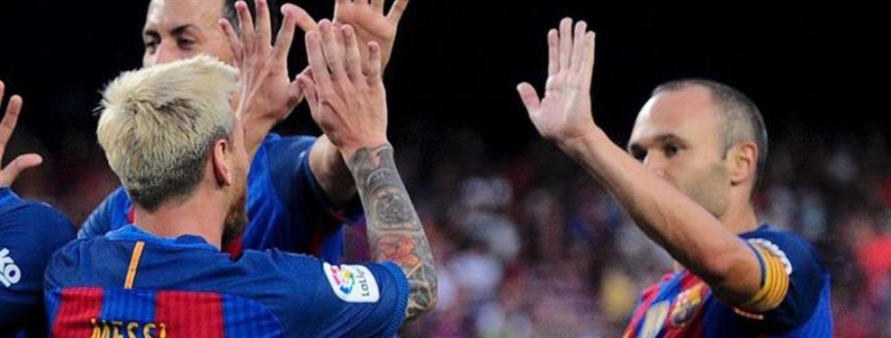 El SOS de Messi a Andrés Iniesta revoluciona el vestuario del Barça