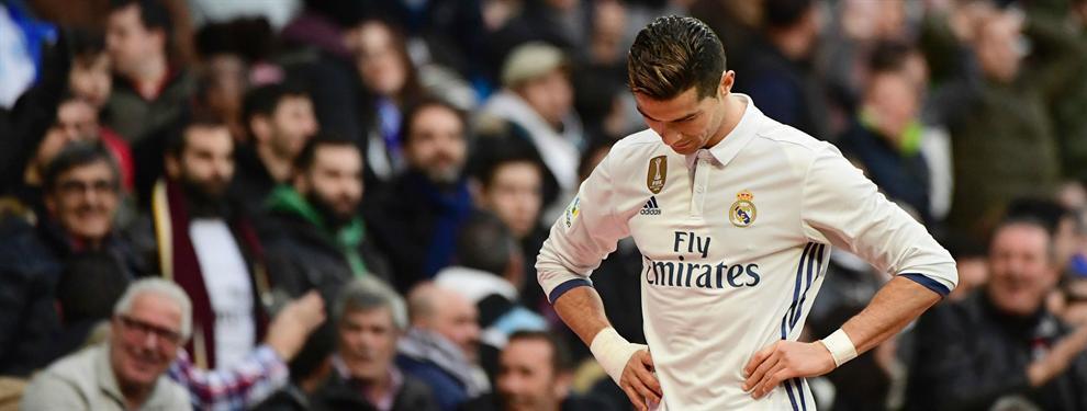 El tremendo enfado de Cristiano Ronaldo en el vestuario del Bernabéu