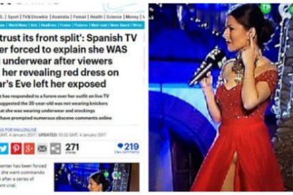 La prensa británica se ceba con la 'Pedroche' canaria