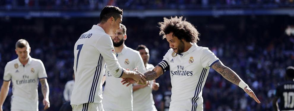 En el vestuario del Madrid se acordaron del Barça tras ganar al Granada