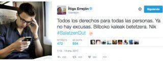 """Twitter estalla contra Errejón por defender a ETA: """"Desalmado, chekista miserable"""""""
