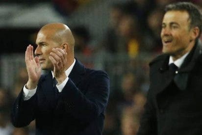 ¡Escándalo! Jugadores del Barça halagan a Zidane para 'matar' a Luis Enrique