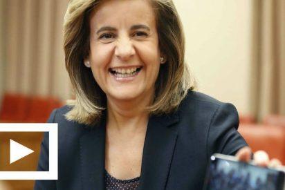 Fátima Báñez: El gasto en pensiones crece en España en enero de 2017 un 3,15%