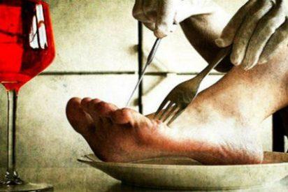 [FOTO X] El restaurante chino servía de tapadillo pies humanos podridos por un ojo de la cara