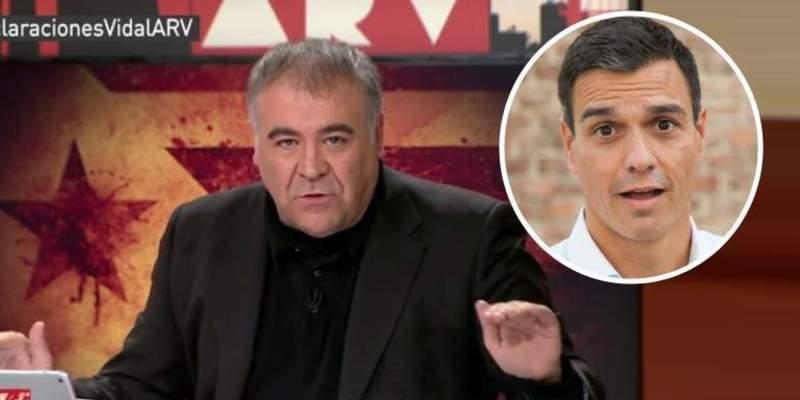 García Ferreras declara la guerra a Pedro Sánchez por llamarle 'manipulador'
