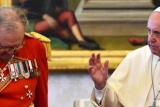 Burke intentó convencer a Festing para que desobedeciera al Papa y no dimitiese al frente de la Orden de Malta