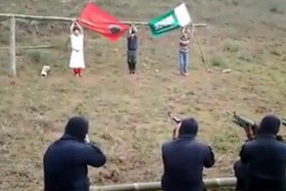 El chapucero fusilamiento de tres asesinos por el Frente Moro de Liberación Islámica