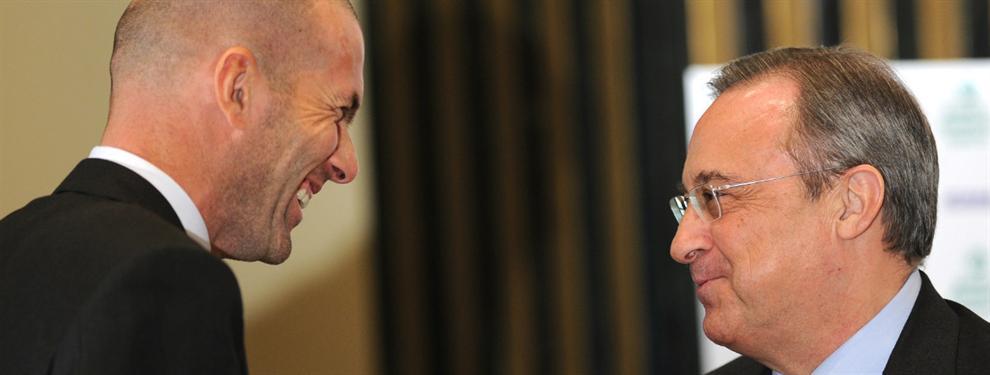Florentino Pérez cierra dos fichajes para Zidane por teléfono