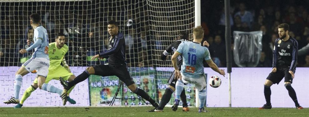 Florentino Pérez coloca a un crack del Madrid en el mercado tras caer en Vigo