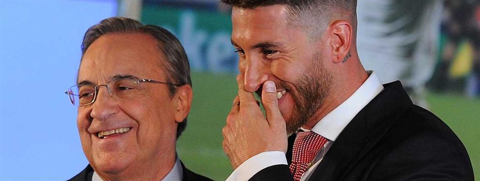 Florentino se cuela en el último capítulo de la guerra entre Ramos y el Sevilla